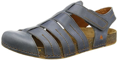artWE WALK - Sandali alla schiava Unisex - Adulto , Blu (Blu oceano), 44