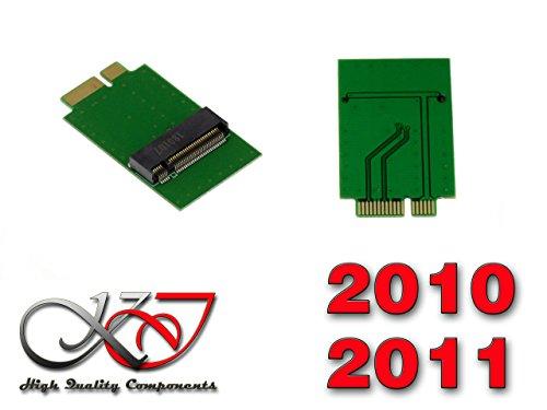 M.2 SSD Adapter (M2 NGFF) für MAC 12+6 pin SSD. Kompatibel ohne mit 2010 und 2011 Mac Pro oder Retina mit 12+6pin SSD (Ssd Für Macbook Pro 2011)