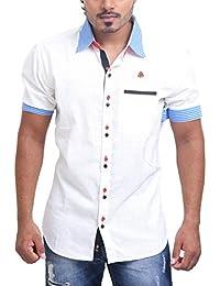 PP Shirts Men Linen Casual Shirt