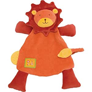 Moulin Roty - Doudou Attache Tétine Lion Les Loustics