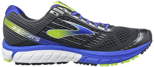 Brooks Ghost 9, Scarpe da Corsa Uomo Multicolore (Anthracite/Electric Brooks Blue)