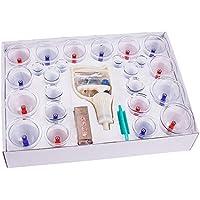 He Ping Yuan Schröpfgerät Schröpfen-Gerät - professionelle Schröpfen Therapiegeräte 24 Tassen Set mit Pumpen Griff... preisvergleich bei billige-tabletten.eu