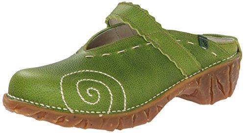 El Naturalista Yggdrasil N096 Damen Clogs & Pantoletten, grün (green), EU 40