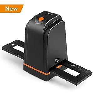 INTEY Scanners de Diapositives et Négatifs USB 2.0 Scanner Convertisseur Film et Slide de Haute Résolution 5 Mégapixels pour Système Windows et Mac -Noir