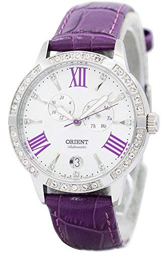 Orient Women's Analogue Automatic Watch with Leather Strap FET0Y004W0