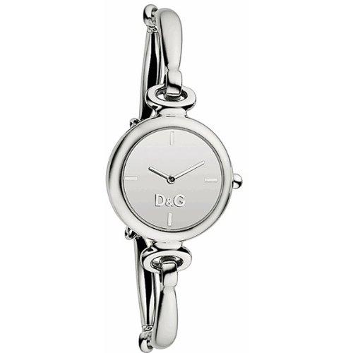 D&G Dolce & Gabbana LE SS SLV DIAL BRC DW0392 DW0392 - Orologio da polso da donna, cinturino in acciaio inox colore argento
