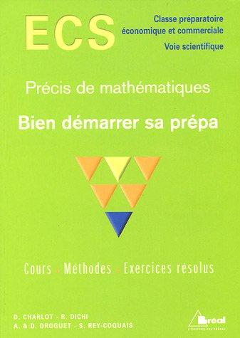 Précis de mathématiques ECS