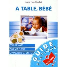 A TABLE, BEBE par Maya Barakat-Nuq