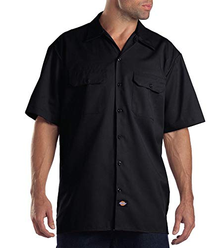 Dickies Herren Regular Fit Freizeit Hemd Shrt/S Work Shirt