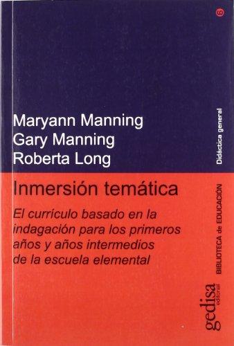 Inmersion Tematica (Bertsolari Aldizkaria) por Maryann Manning