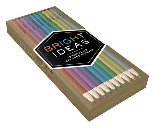 Bright Ideas Metallic Colored Pencils by Chronicle Books (2016-05-03)