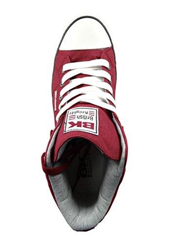 British Knights Roco - Sneakers alte uomo Burgundy