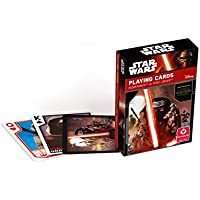 Cartamundi - 100148124101 - Star Wars - Jeu De 54 Cartes - Episodes Vii - Blister Pack