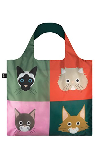 Stephen Cheetham Cats Bag: 50x42 cm