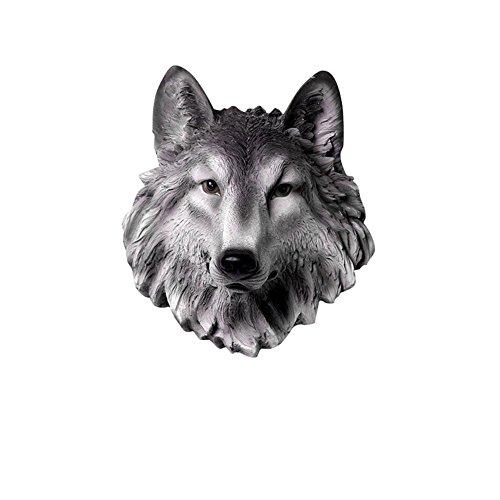 KAIRRY Cabeza De Lobo Colgante De Pared Colgante De