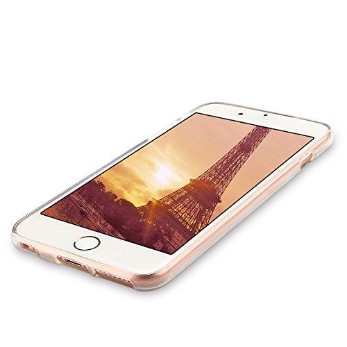 Coque iPhone 6, Etui Coque TPU Slim Housse Cover avec Motif Tortue Bumper pour Apple iPhone 6 / 6S (4.7 pouces) Souple Housse de Protection Flexible Soft Case Cas Couverture Anti Choc Mince Légère Sil Chat