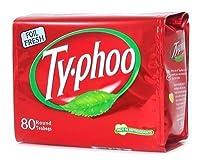 Typhoo Tea 80ct Tea Bags 8.82 ounces 250g