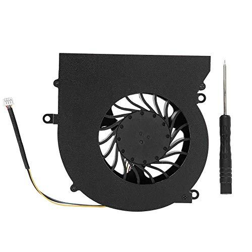 Ventilateur de refroidissement du processeur Ventilateur de refroidissement, connecteur à 4 broches, ventilateur DC12V 0.65A for MSI série GT62VR MS-16L1 MS-16L2. A propos du ventilateur de refroidiss