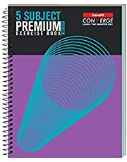 Luxor Spiral Hard Bound Note Book 5 SUB,250 PG,18 *24 SPIRAL