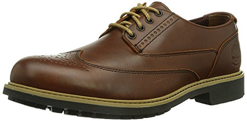 Timberland Men\'s Earthkeepers Ek Stormbuck Brogue Red Brown/Fg Casual Shoe 9 Men US