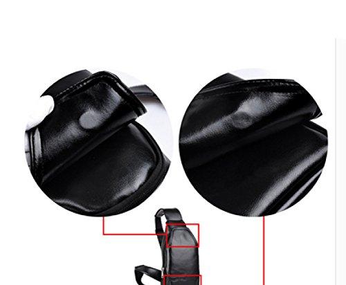 LAIDAYE Mode Für Männer Casual Sport Multifunktions-Schultertasche Business-Paket Umhängetasche Brustbeutel Brown
