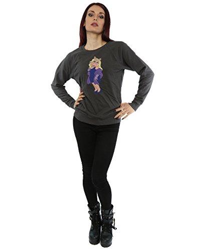Muppets Femme Classic Miss Piggy Sweat-Shirt Graphite Lumière