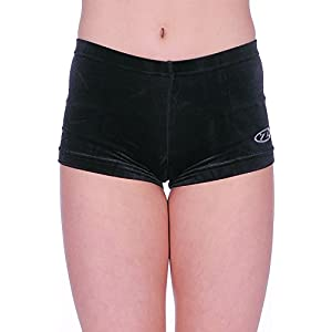 The Zone Z2000DIV Glattens Velours/Lycra Hüft-Shorts