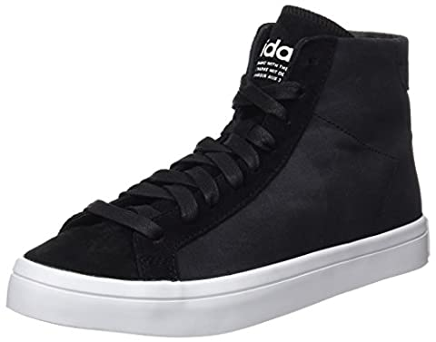 adidas Damen Court Vantage Mid High-Top, Schwarz (Core Black/Core Black/Ftwr White), 40 EU