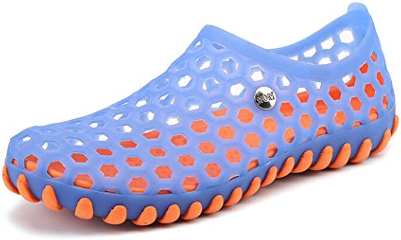 Zapatillas De Malla Transpirable Playa Hueco Fuera Sandalias Zapatos Deportivos Al Aire Libre,45 -