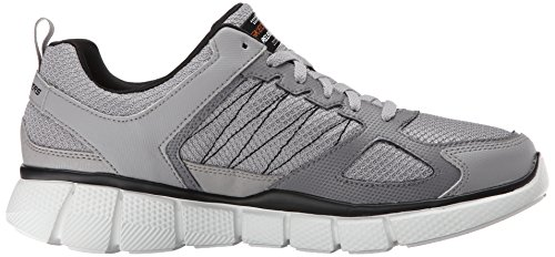 Skechers Equalizer 2.0-On Track, Chaussures de Sport Homme Gris