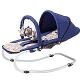 MAOZHE Chaise berçante bébé Transats et balancelles Musique Bascule Rocking-Chair...