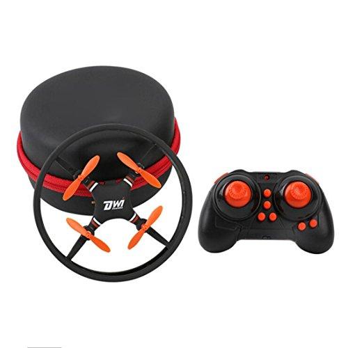 WYXlink New Mini Super Durable Nano UFO Drone Space Trek 2.4GHz 4-Axis 4CH RC Quadcopter (orange)