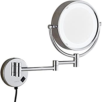 Oxford steet high quality led lighted magnifying mirrors chrome oxford steet high quality led lighted magnifying mirrors chrome wall mounted extending 85 inches cosmetic aloadofball Choice Image
