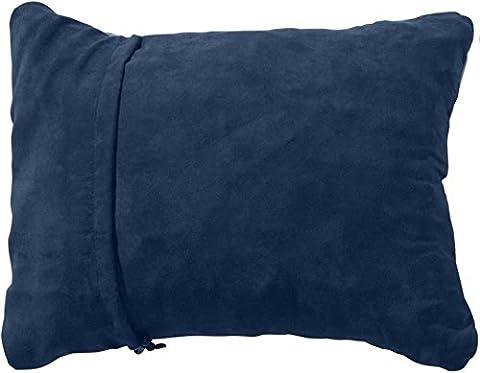 Therm-a-Rest Oreiller de voyage compressible Bleu Denim L (58 x 41cm)
