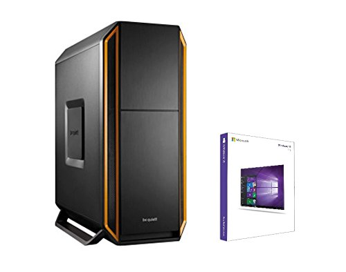 Ultra i7 PC Intel Core i7 6700K 4x 4.00GHz • be quiet! Silent Base 800 Orange • MSI 2G Gaming GTX950 2GB nVidia GeForce • Samsung EVO 850 SSD 250GB • 1TB HDD • HyperX Fury 16 GB DDR4 RAM 2400MHz • Windows 10 Pro • DVD RW • USB3.1 - USB3.0 • WLAN • Gamer PC • Asus Z170 Pro Gaming • 700W 80+ , multimedia , gamer , gaming pc , desktop , rechner - Nvidia Geforce Sli