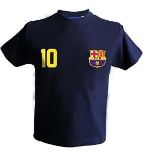 T-shirt Lionel MESSI - N°10 - Barça - Collection officielle FC BARCELONE - Taille enfant garçon 4 ans