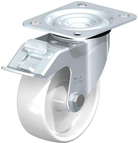 BLICKLE le-po LPA-TPA 100G Lenkrolle, 10cm Rad Durchmesser, 330Lb. Tragkraft