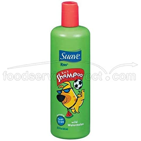 Suave Smoother Wild Watermelon Kids 2 In 1 Shampoo 22.5 Ounce by Suave