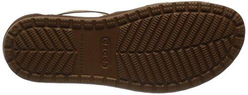 Crocs CrocsAnna - Sandali Donna Marrone (Hazelnut/Espresso)