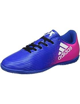 Adidas X 16.4 In J, Zapatillas de Fútbol Sala Unisex Niños