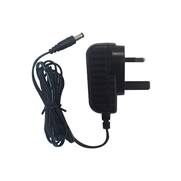 5V 2A Power Adapter, SZXSDY AC 100-240V to DC 5V 2A Power Supply Adapter with 5.5ft/1.5m Lead, 10W Adapter for LED Strip Lights, Audio/Video, Router, DC Connector Jack 5.5mmx2.1mm, UK Plug 415PW53kF5L
