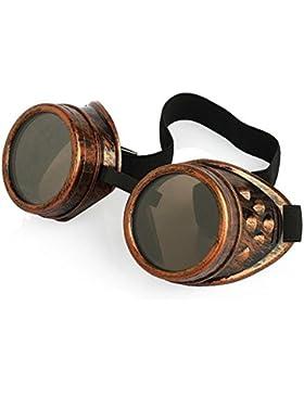 Ultra nuevo Premium calidad Steampunk Cyber gafas gafas estilo victoriano soldadura cosplay en un estilo gótico...