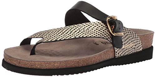 Mephisto Womens Helen Leather Sandals Noir