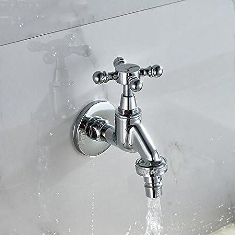 SKC® Frostschutz-Hahn-All-Kupfer-Spool-Raum im Freien Garten Balkon 4 Si 6 Punkte
