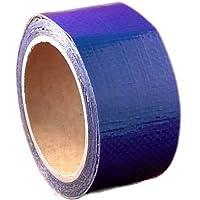 WUPSI - Cinta adhesiva de polietileno para reparaciones para cualquier toldo y lámina, azul