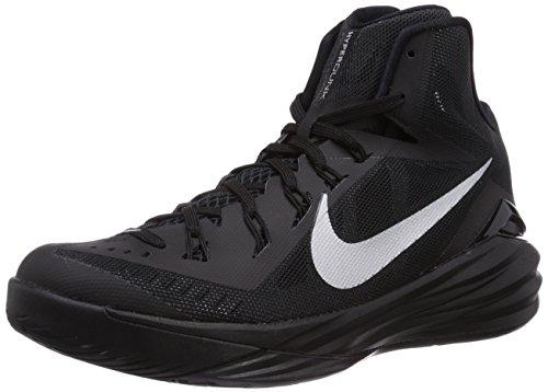 Nike Hyperdunk 2014, Chaussures de Basketball Homme Noir (black/metallic Silver 001)
