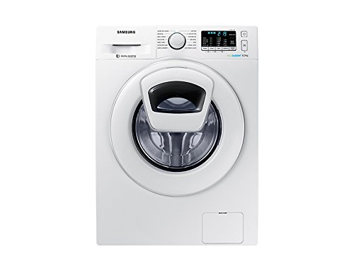 Samsung 8 kg Fully-Automatic Front Loading Washing Machine (WW80K5210WW, White)