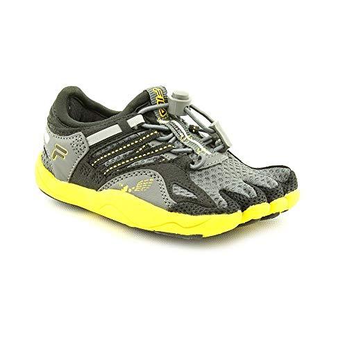0ea8dfab4c2de Fila Skele-Toes Bay Runner 3 Lighted Sandal (Toddler/Little Kid/Big  Kid),Castlerock/Black/Lemon,11 M US Little Kid