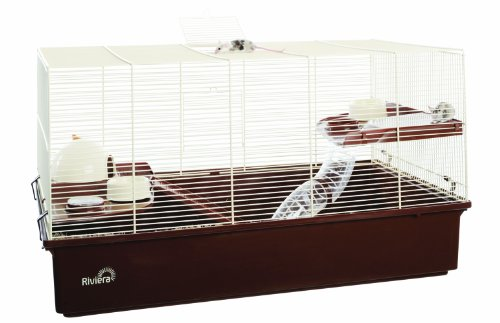 Riviera Varazze Hamsterkäfig/Mäusekäfig, GrößeXL, 70x40x40cm