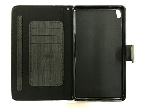 CELZO Wallet Tablet Flip Cover Case for Lenovo Phab 4G (PB1-750M)